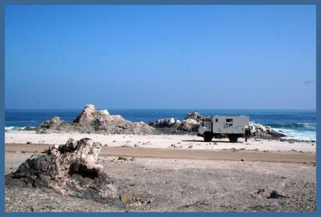Campen am Strand 1
