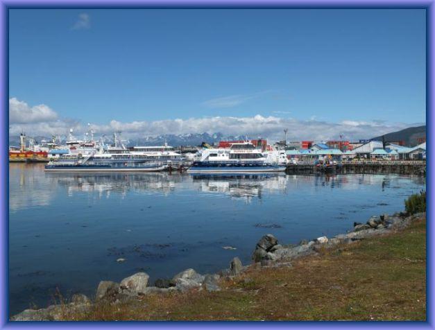Hafen von Ushuaia