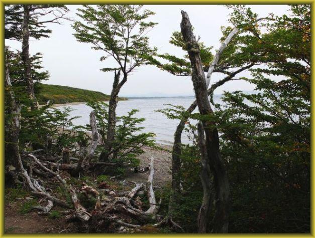 Blick auf die Laguna Parrillar